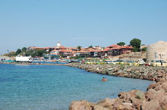 Haven in Nessebar, Bulgarije Royalty-vrije Stock Foto