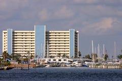 Haven op de Baai van Boca Ciega stock foto