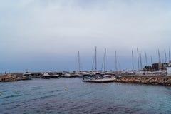 Haven in Palma de Mallorca Royalty-vrije Stock Foto