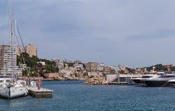 Haven in Palma de Mallorca Royalty-vrije Stock Afbeeldingen