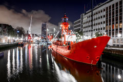 Haven in Rotterdam Royalty-vrije Stock Foto