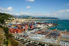 Haven Salerno Royalty-vrije Stock Afbeeldingen