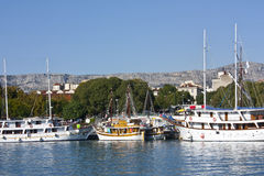 Haven in Split Royalty Free Stock Photo