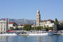 Haven in Split Stock Photo