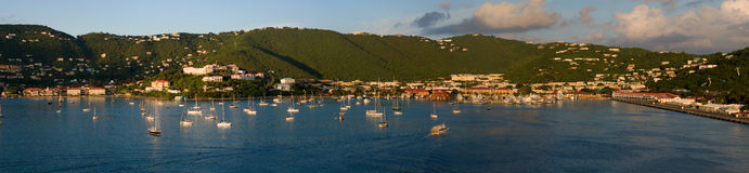 Haven st-Thomas Stock Foto