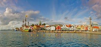 Haven in Stavanger Stock Afbeelding