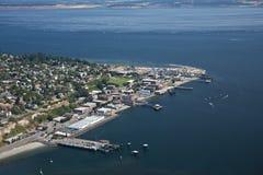 Haven Townsend Olympic Peninsula Royalty-vrije Stock Fotografie