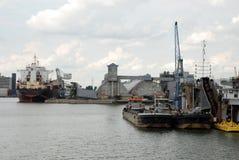 Haven van Antwerpen Stock Foto's