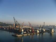 Haven van Barcelona stock afbeelding