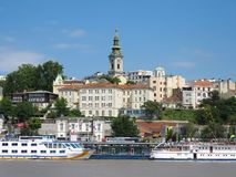 TheÂhaven van Belgrado Royalty-vrije Stock Foto