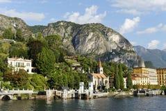 Haven van Cadennabia, meer Como, Italië royalty-vrije stock foto's