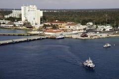 Haven van Cozumel, Mexico Stock Foto's