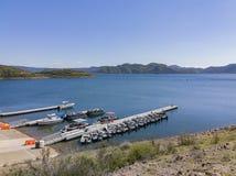 Haven van Diamond Valley Lake royalty-vrije stock fotografie