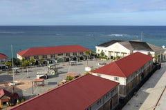Haven van Falmouth, Jamaïca Stock Afbeeldingen