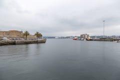 Haven van Ferrol Stock Fotografie