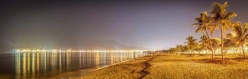 Haven van Fujairah (Panorama) Stock Afbeelding