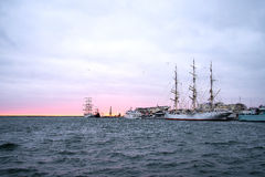 Haven van Gdynia Royalty-vrije Stock Foto