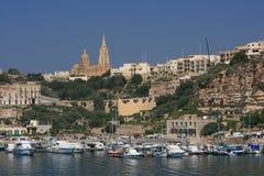 Haven van Gozo Royalty-vrije Stock Foto