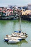 Haven van Gr Jadida, Marokko stock afbeelding