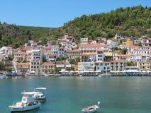 Haven van Gytheio de Peloponnesus Griekenland Stock Fotografie