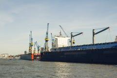 Haven van Hamburg Royalty-vrije Stock Foto