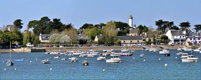 Haven van haven-Navalo in Frankrijk Stock Afbeelding