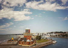 Haven van Helsingborg Zweden Royalty-vrije Stock Fotografie