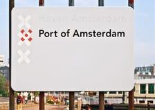 Haven van het paneel van Amsterdam Stock Foto's