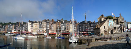 Haven van Honfleur royalty-vrije stock foto's