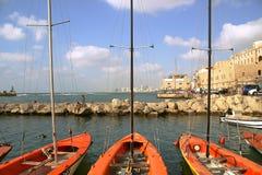 Haven van Jaffa. Stock Fotografie