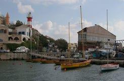 Haven van Jaffa Stock Afbeeldingen