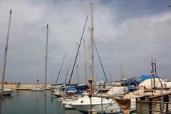 Haven van Jaffa in Tel Aviv Stock Afbeeldingen