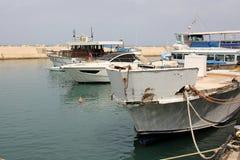 Haven van Jaffa in Tel Aviv Stock Foto