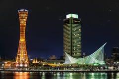Haven van Kobe stock afbeeldingen