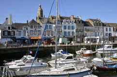 Haven van Le Croisic in Frankrijk Stock Foto