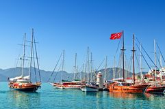 Haven van Marmaris Royalty-vrije Stock Fotografie