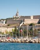 Haven van Marseille Stock Foto's