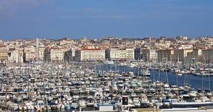 Haven van Marseille, Frankrijk Stock Foto