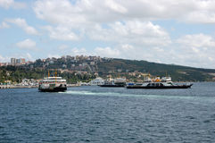 Haven van Mersin  Stock Afbeelding