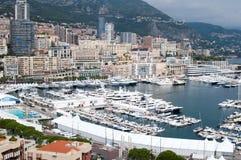 Haven van Monaco Royalty-vrije Stock Foto