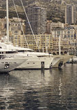 Haven van Monaco Royalty-vrije Stock Fotografie