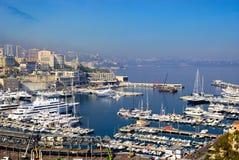 Haven van Monaco stock foto's