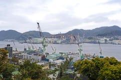 Haven van Nagasaki Stock Foto's