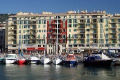 Haven van Nice in Frankrijk Stock Fotografie