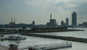 Haven van Osaka Royalty-vrije Stock Afbeelding