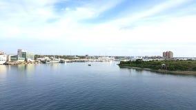 Haven van Palm Beach Stock Afbeelding