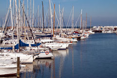 Haven van Rimini Royalty-vrije Stock Fotografie