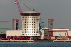 Haven van Rotterdam, Nederland Stock Afbeeldingen