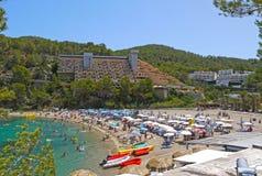 Haven van San Miguel, Ibiza spanje Stock Foto