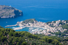 Haven van Soller, Mallorca, Spanje Stock Fotografie